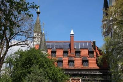 Orden der Templer München Photovoltaikanlage