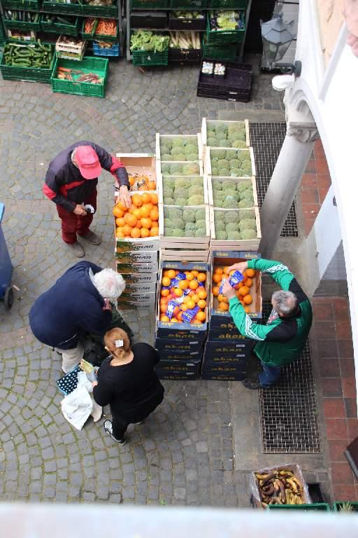 Frisches Obst für Bedürftige